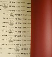 傲克 KP80E 皮革砂带